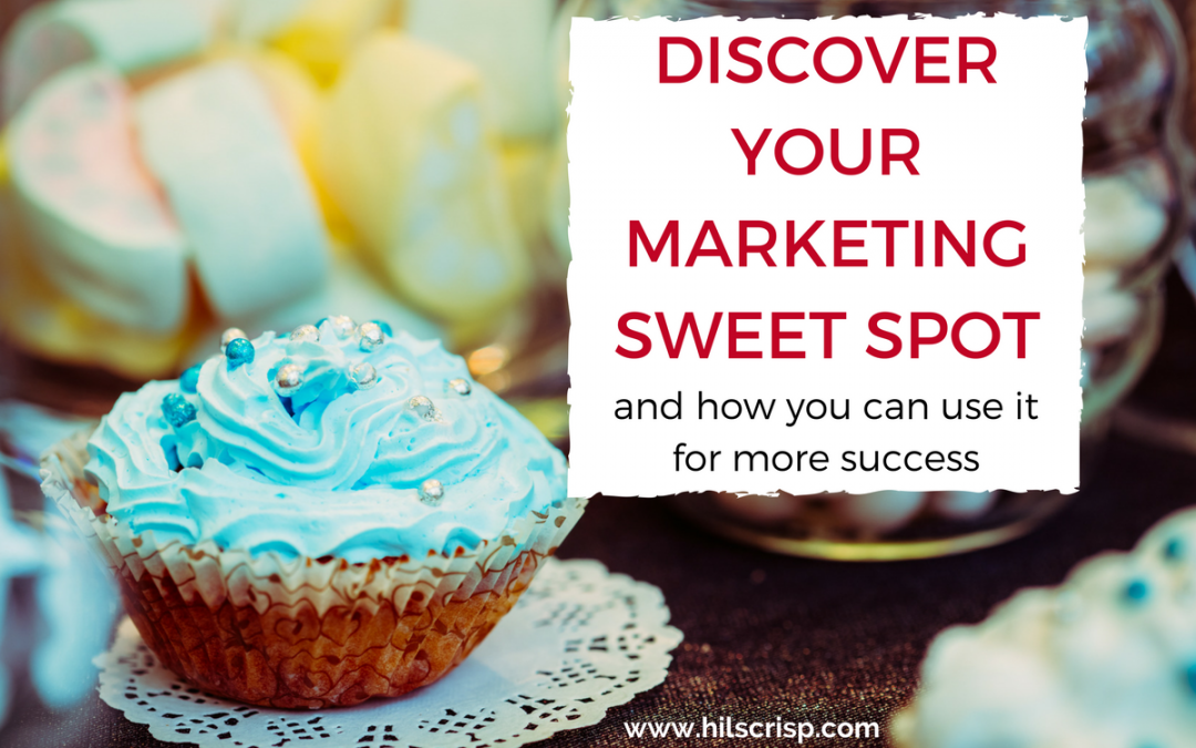 DISCOVER YOUR MARKETING SWEET SPOT