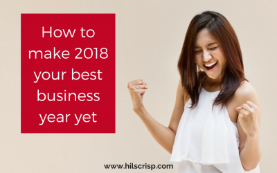 How to make 2018 your best business year yet