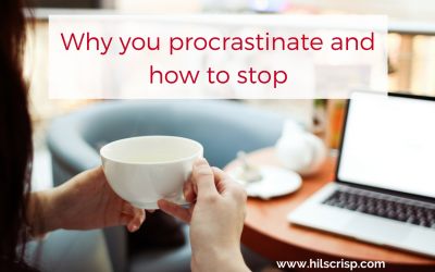 Why you procrastinate and how to stop