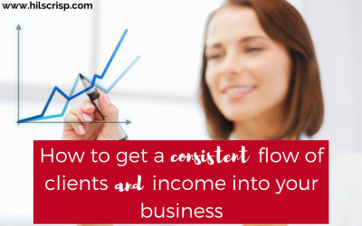 How to get a consistent flow of clients and income