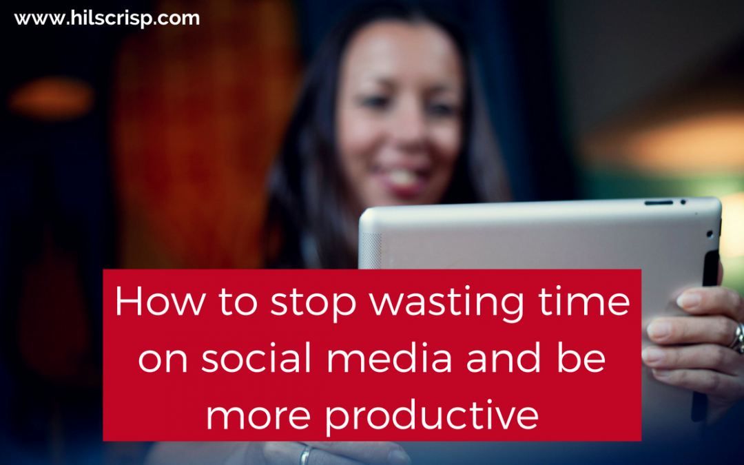 stop wasting time on social media and be more productive