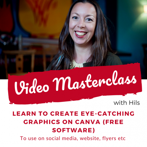 Create graphics on Canva - Video Masterclass
