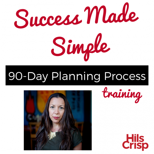 Success Made Simple 90-day planning process training